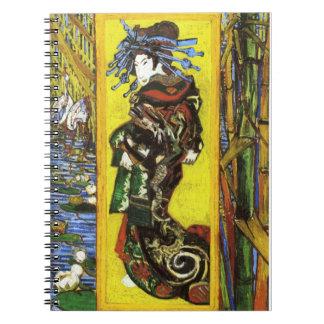 Cuaderno de Van Gogh Japonaiserie Oiran