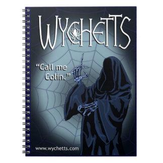 Cuaderno de Wychetts el oscuro