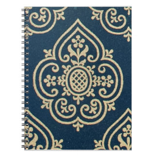 Cuaderno decorativo del siglo XV del diseño de la