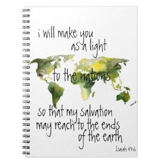 Cuaderno del 49:6 de Isaías