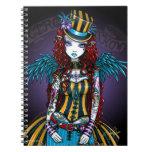 Cuaderno del acto secundario del tatuaje del circo