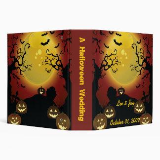 """Cuaderno del álbum de foto del boda de Halloween Carpeta 2"""""""