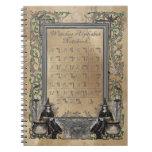 Cuaderno del alfabeto de las brujas