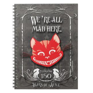 Cuaderno del Alicia-En-País de las maravillas