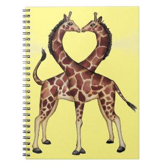 Cuaderno del amor de la jirafa