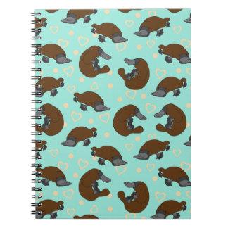 Cuaderno del amor de Platypus