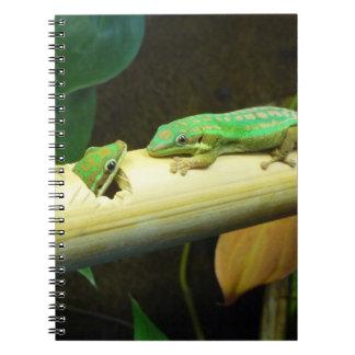 Cuaderno del amor del Gecko