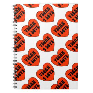 Cuaderno del amor del vegano 4