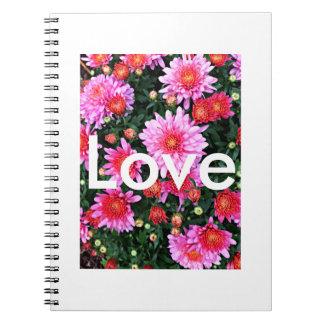 """Cuaderno del """"amor"""""""
