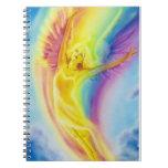 Cuaderno del ángel del arco iris