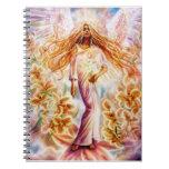 Cuaderno del ángel del lirio