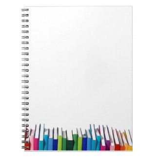 Cuaderno del apego del estante