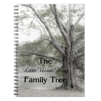 Cuaderno del árbol de familia de la genealogía