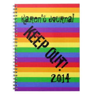 Cuaderno del arco iris