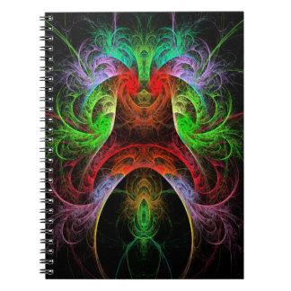 Cuaderno del arte abstracto de Carnaval