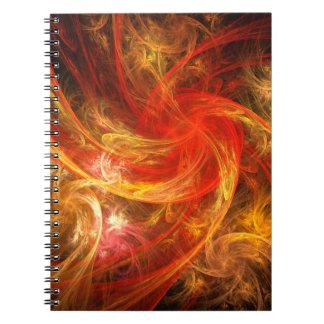 Cuaderno del arte abstracto de Nova de la tormenta