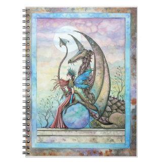 Cuaderno del arte de la fantasía de la hada y del