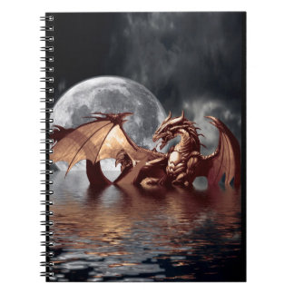Cuaderno del arte de la fantasía del dragón y de