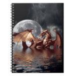 Cuaderno del arte de la fantasía del dragón y de l