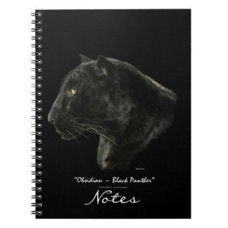 Cuaderno del arte de la fauna del leopardo de Jagu
