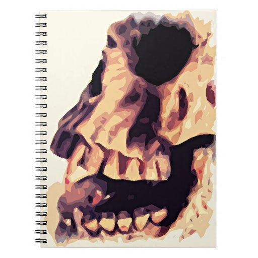 Cuaderno del arte del cráneo