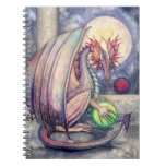 Cuaderno del arte del dragón de la fantasía