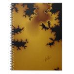 Cuaderno del arte del fractal del moho
