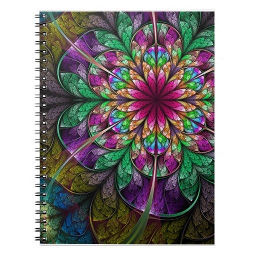 Cuaderno del arte del fractal: Sabores