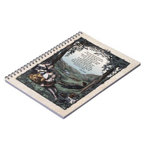 """Cuaderno del arte del Victorian de Meredith """"Pasto"""