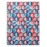 Cuaderno del arte pop de Obama 2012