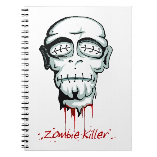 Cuaderno del asesino del zombi