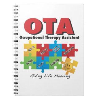 Cuaderno del ayudante de OccupationalTherapy