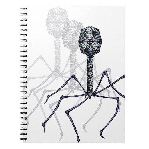 Cuaderno del bacteriófago T4