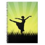Cuaderno del bailarín de ballet