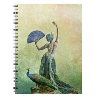 Cuaderno del bailarín del pavo real