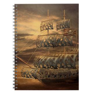 Cuaderno del barco pirata