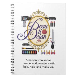 """Cuaderno del """"Beautician"""""""