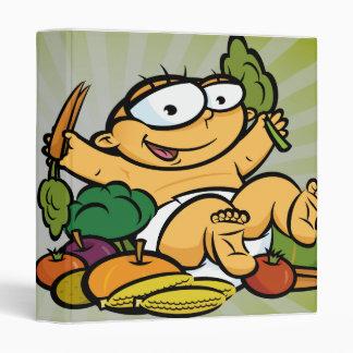 """cuaderno del bebé del veggie carpeta 1"""""""