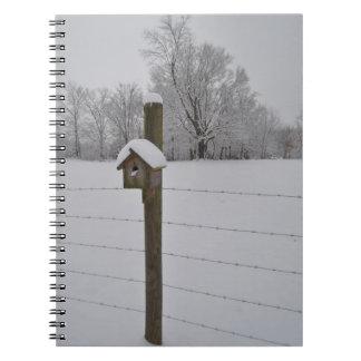 Cuaderno del Birdhouse Nevado