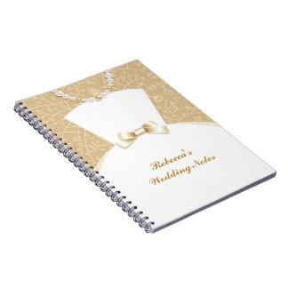 Cuaderno del boda de la novia