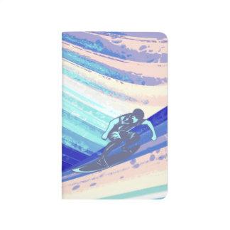 Cuaderno del bolsillo, diseño del océano