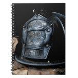Cuaderno del bombero de Houston
