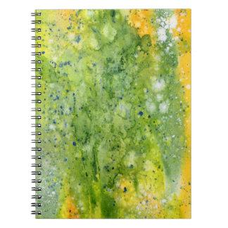 Cuaderno del bosque de la sol