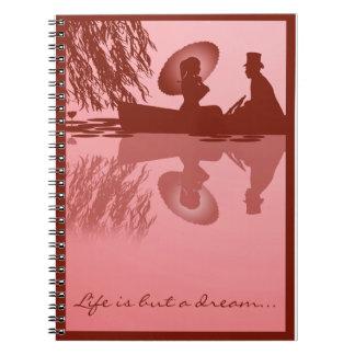 Cuaderno del bote de remos del Victorian