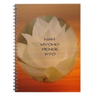 Cuaderno del budista del SGI