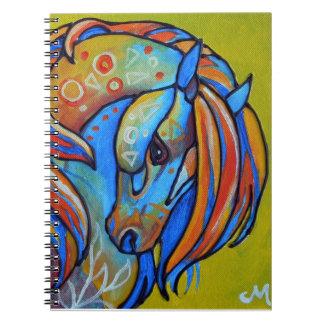 Cuaderno del caballo 1 del vitral