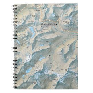 Cuaderno del camino de Ir-a--Sun del glaciar