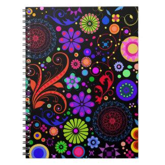Cuaderno del caramelo del ojo