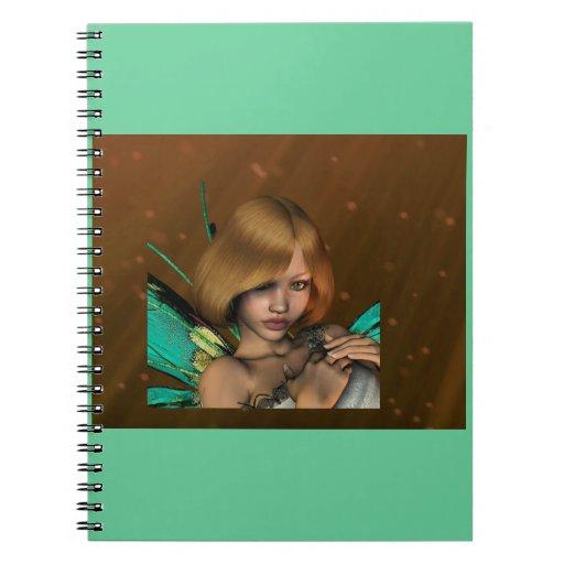 Cuaderno del chica de Fae