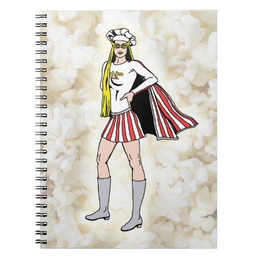 Cuaderno del chica de las palomitas